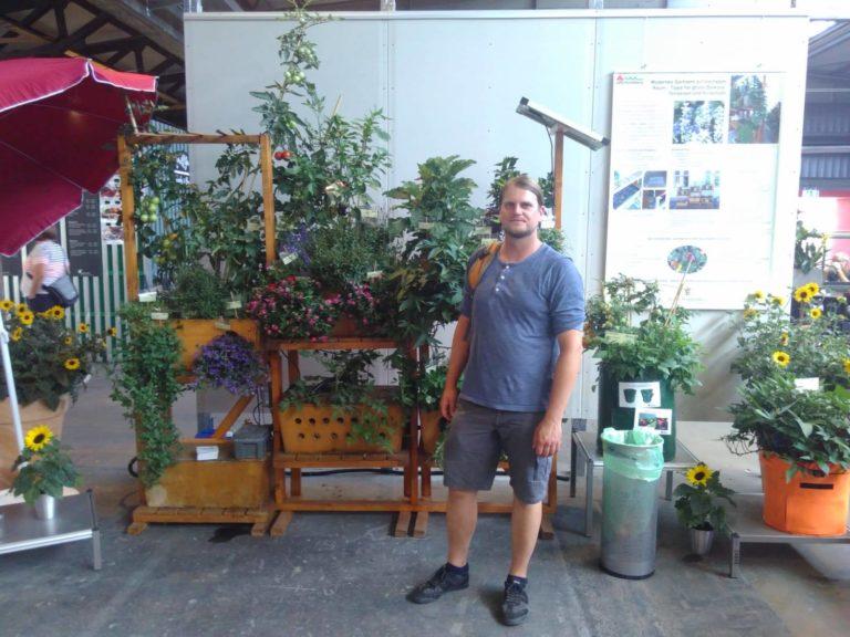 Geco-Gardens – der ökologische vertikale Garten für Deinen Balkon