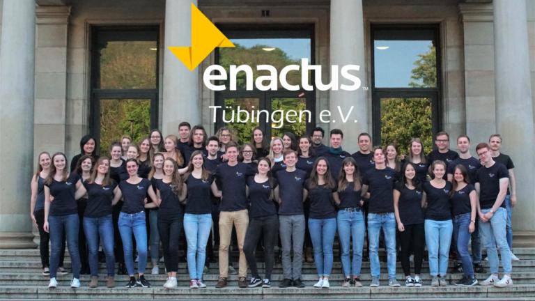 Enactus Tübingen e.V. ist Teil einer weltweiten Initiative, die an mehr als 1.700 Hochschulen in 36 Ländern existiert und so schon mehr als 75.500 Studierende begeistern konnte.
