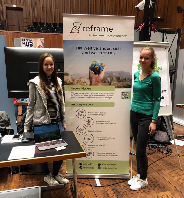 Reframe – unterstützt, innovative Geschäftsmodelle auszuarbeiten