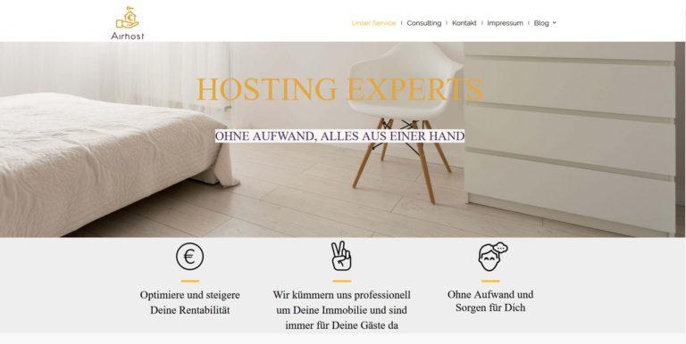 Airhost – hilft Dir beim Geldverdienen mit Deiner Wohnung