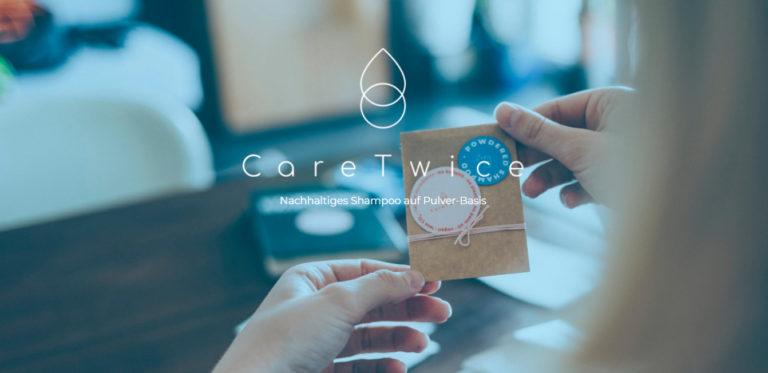 CareTwice – nachhaltiges Shampoo