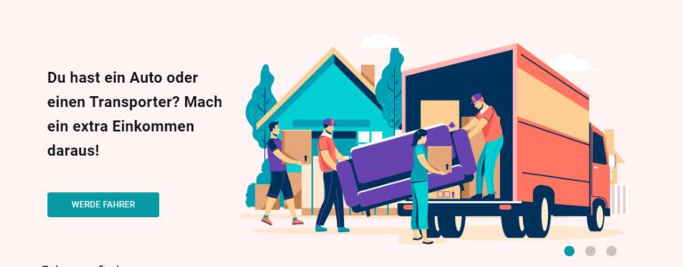 Luggage Pool verbindet Besitzer von Lieferwagen mit Menschen die sperrige Gegenstände transportieren möchten