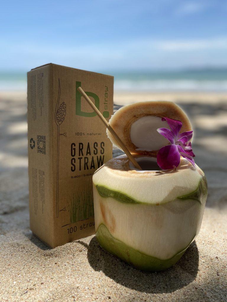 b.straw by GRow – die nachhaltigen Trinkhalme